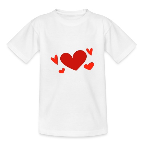 Five hearts - Teenage T-Shirt