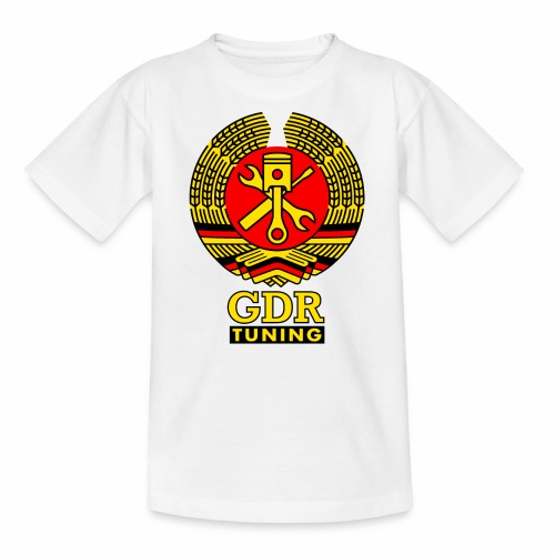 GDR Tuning Coat of Arms 3c - Teenage T-Shirt