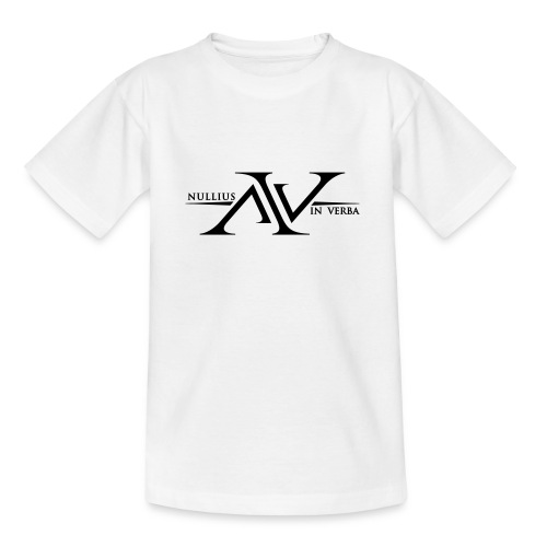 Nullius In Verba Logo - Teenage T-Shirt