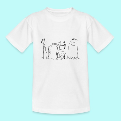 4 SportsGeister - Teenager T-Shirt