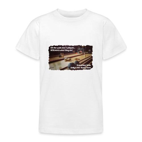Shirt Screaming Walls - Teenager T-shirt