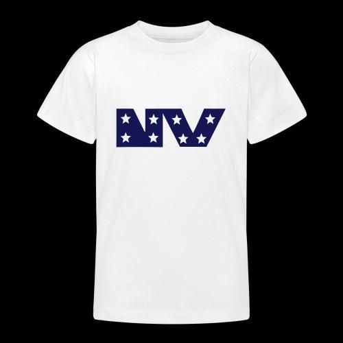 NY S AND S BLUE - Teenage T-Shirt