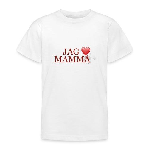 Jag älskar mamma - T-shirt tonåring