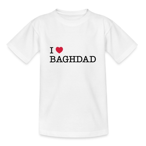 I LOVE BAGHDAD - Teenage T-Shirt