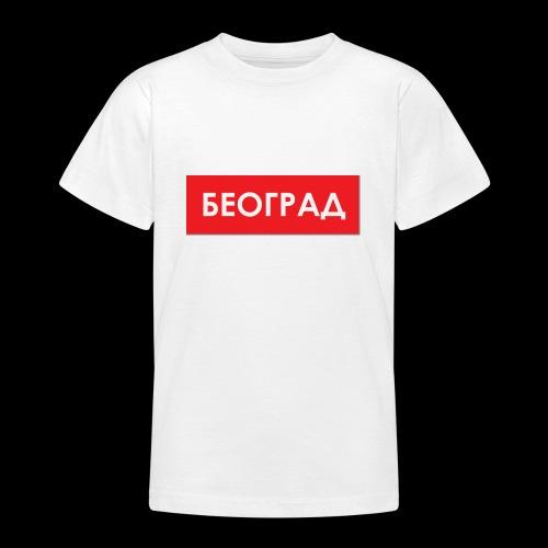 Beograd - Utoka - Teenager T-Shirt