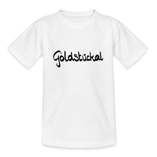 Goldstückal - Teenager T-Shirt