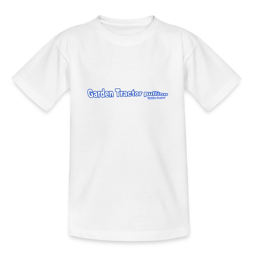 Garden Tractor pulling - Teenager-T-shirt