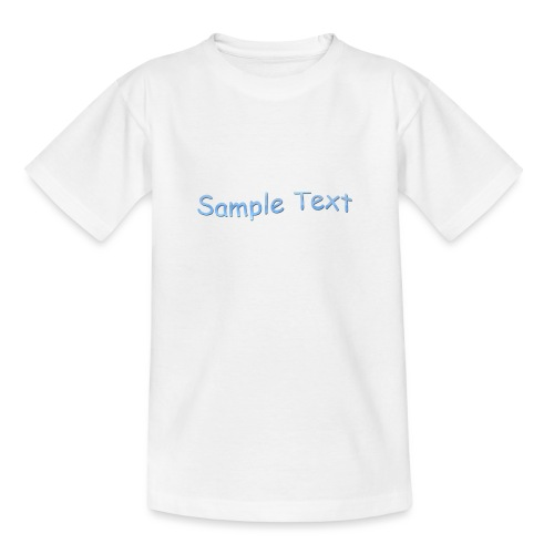 SAMPLE TEXT CAP - Teenage T-Shirt