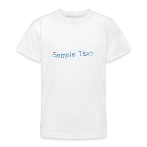 SAMPLE TEXT CAP - Teenage T-Shirt