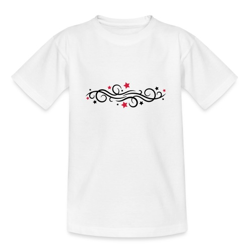 Ornamente_Sterne_01 - Teenager T-Shirt