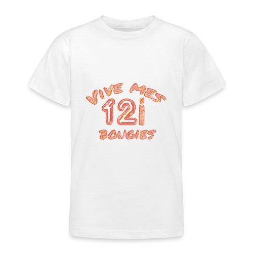 Vive mes 12 bougies - T-shirt Ado