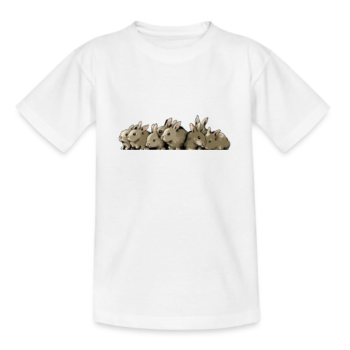 Lapins gris - T-shirt Ado