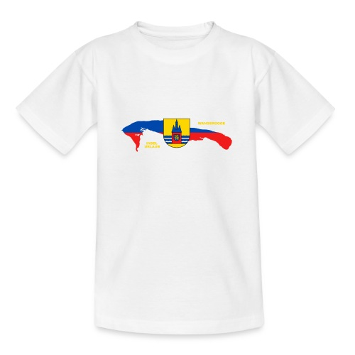 Wangerooge Insel Nordsee Urlaub - Teenager T-Shirt