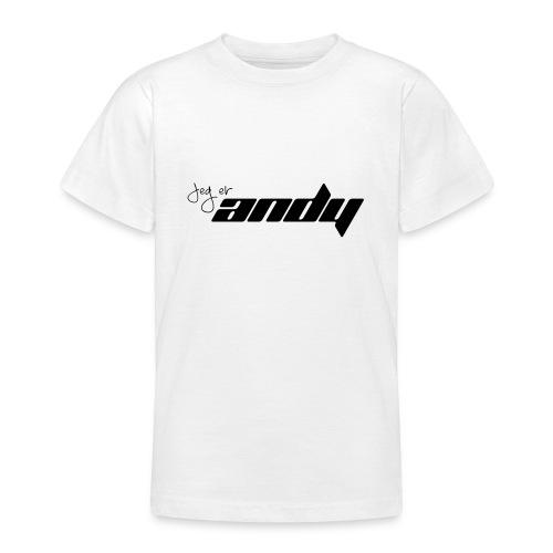 Andy t-shirt - T-skjorte for tenåringer