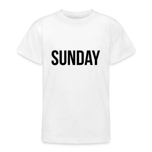 Sunday - Teenage T-Shirt