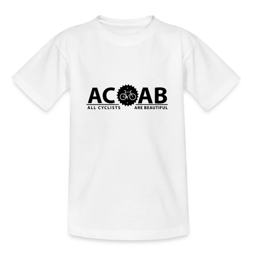ACAB ALL CYCLISTS - Teenager T-Shirt