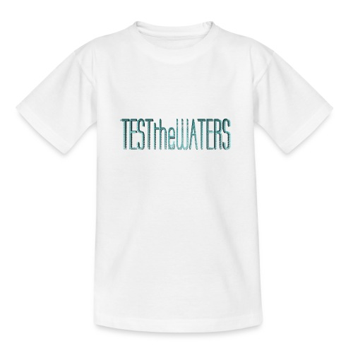 TESTtheWATERS BETA BLUE - Teenage T-Shirt