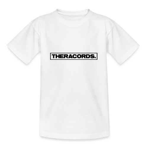 Theracords_logo_black_TP - Teenager T-shirt