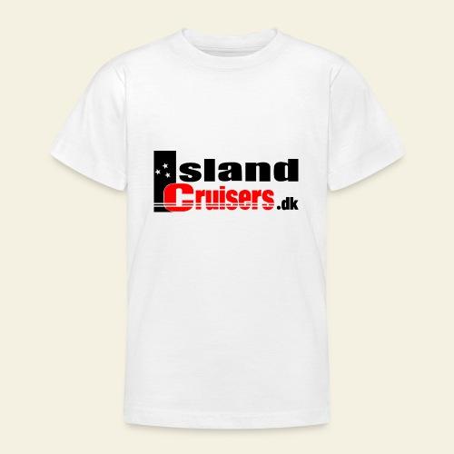 Island cruisers black - Teenager-T-shirt