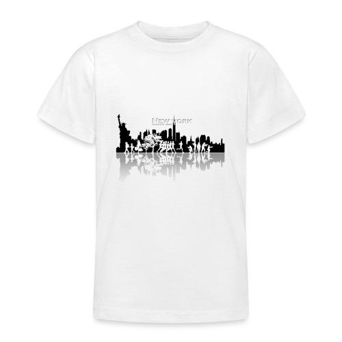 New York silhouette - T-shirt Ado