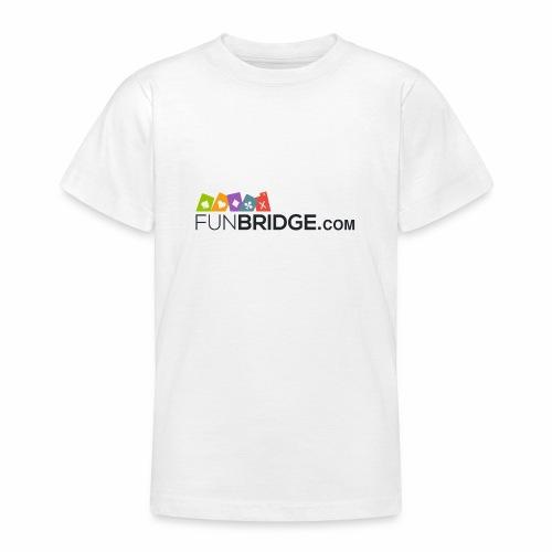 Logo de funbridge - Camiseta adolescente