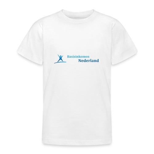 Logo Basisinkomen Nederland 2 - Teenager T-shirt