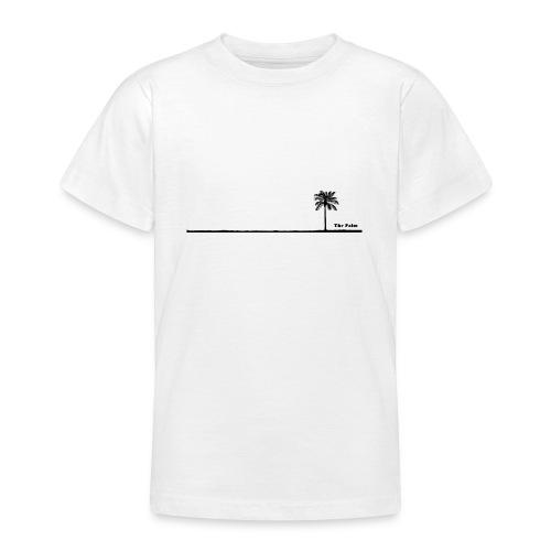 Palm dubai beach black and white - Maglietta per ragazzi