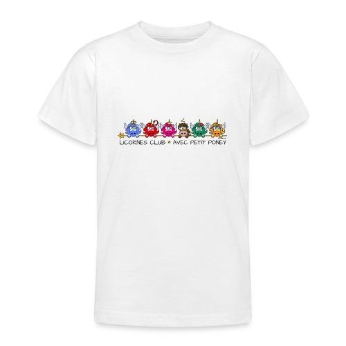 Unicorns Club & Little Pony - T-shirt Ado
