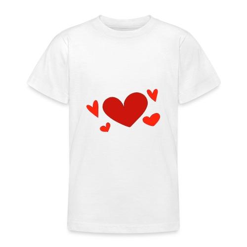 Five hearts - Teenage T-Shirt