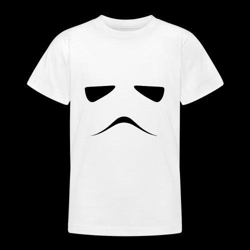 Stormtrooper Face - Teenage T-Shirt