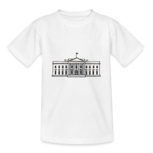 Weiße Haus Washington DC - Teenager T-Shirt