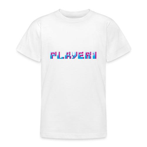 Arcade Game - Player 1 - Teenage T-Shirt