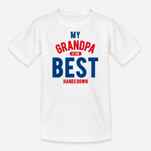 OmaAdele - Best Grandpa - Teenager T-Shirt