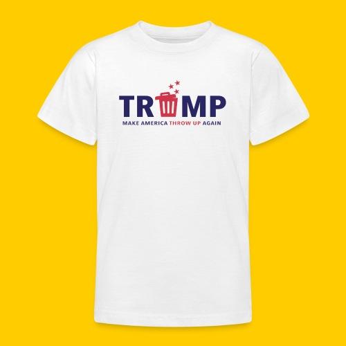 Trump trash - T-shirt tonåring