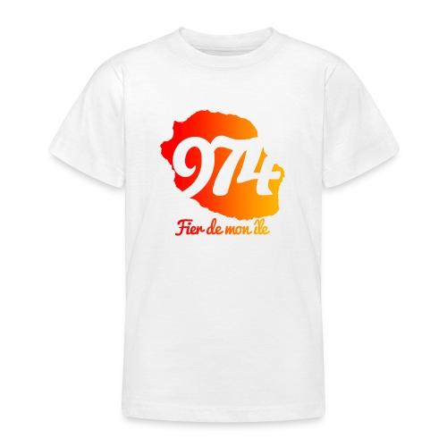 Collection 974 Fier de mon île - T-shirt Ado