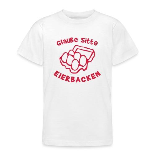 Eierbacken - Teenager T-Shirt