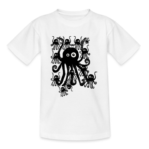 Sweet Octopi by BlackenedMoonArts - Teenager-T-shirt