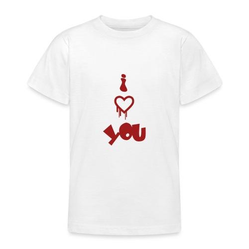 Peluche i love you - Teenage T-Shirt