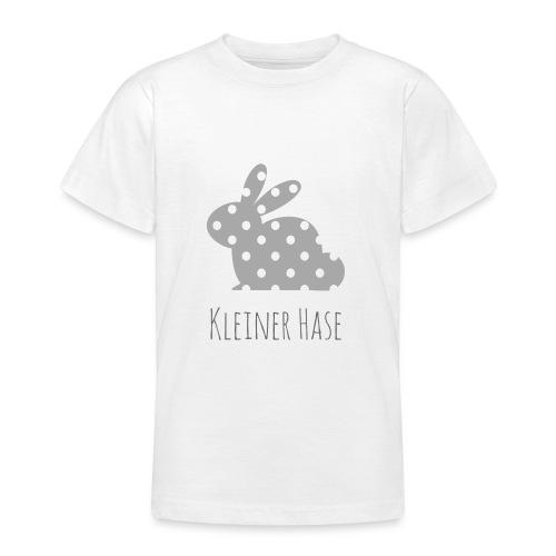 Hase grau - Teenager T-Shirt
