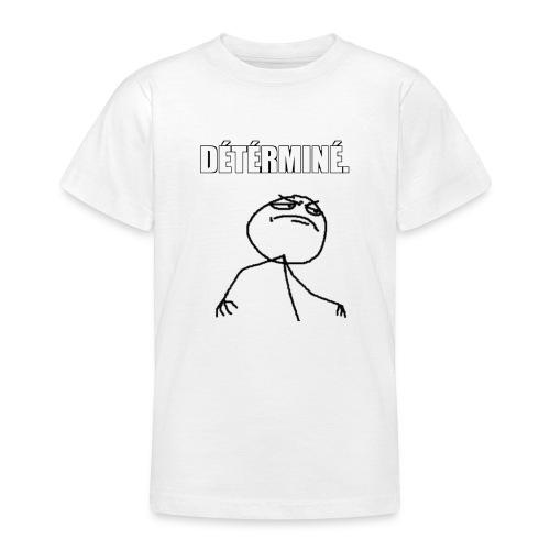 DÉTÉRMINÉ. - T-shirt Ado