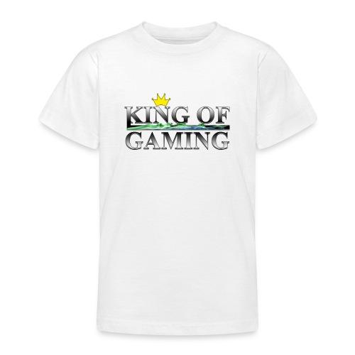 King of Gaming Gamer Geschenk - Teenager T-Shirt