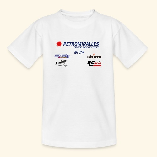 DRONE RACING TEAM - Camiseta adolescente