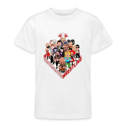 comics-wrestler - Teenager T-Shirt