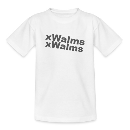 xWalms 2 Text - T-shirt tonåring