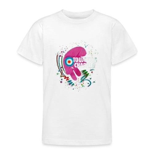 Toujours Charlie interprété par l'artiste C215 - T-shirt Ado