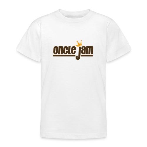 Oncle Jam horizontal brun - T-shirt Ado