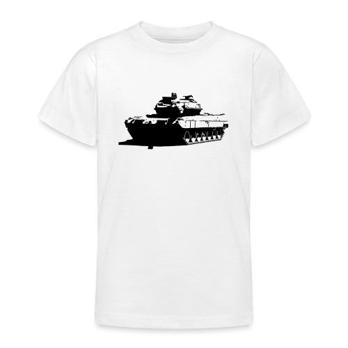 Leopard 2 Kampfpanzer - Stridsvagn 122 - T-shirt tonåring