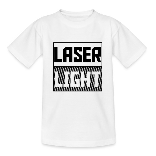 laser light design - Teenage T-Shirt