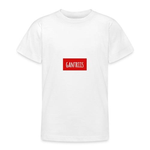 Klassisk med Navn - Teenager-T-shirt