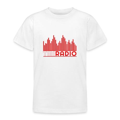 NEW TMI LOGO RED AND WHITE 2000 - Teenage T-Shirt